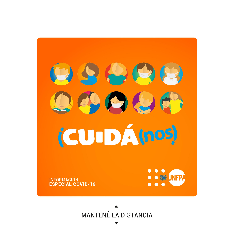 #CUIDÁnos: una campaña para promover el cuidado de la salud durante la pandemia