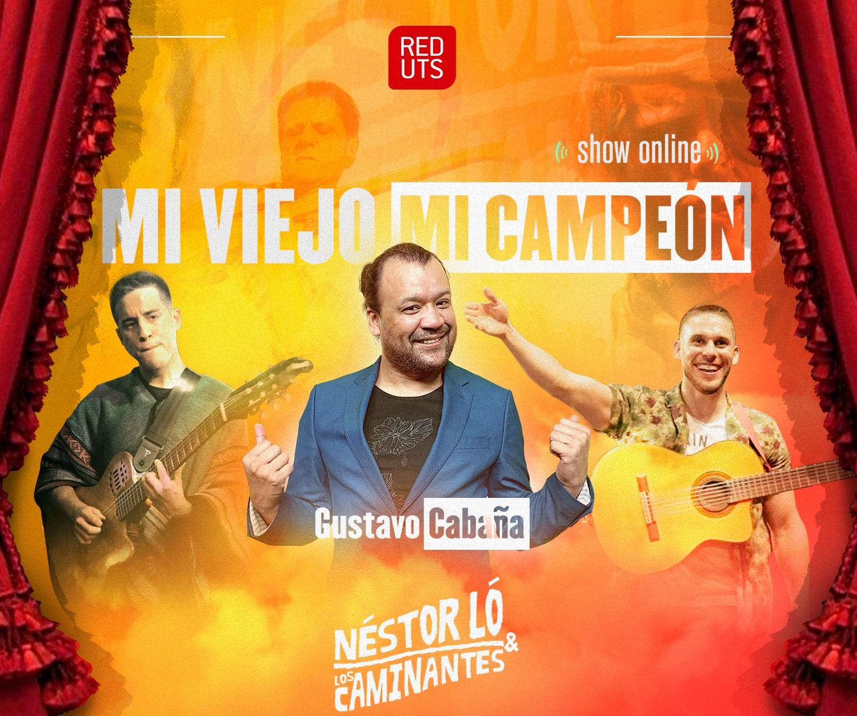 Los Caminantes y Gustavo Cabaña estrenarán show virtual por el Día del Padre