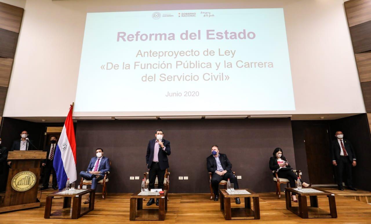 Sindicalistas buscan que se respete los derechos adquiridos del funcionario público y carrera administrativa