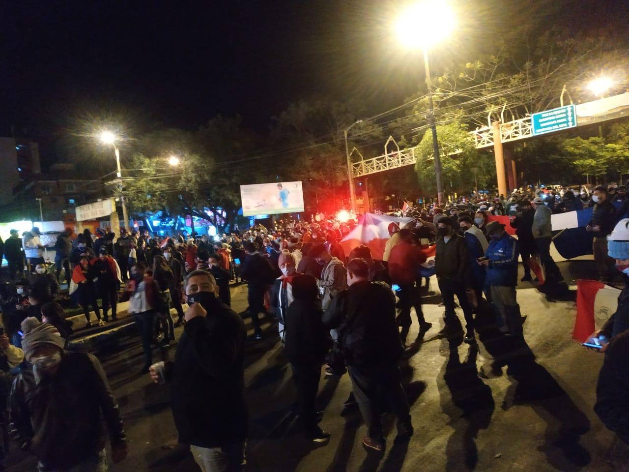 42 personas fueron imputadas luego de las manifestaciones realizadas en Alto Paraná