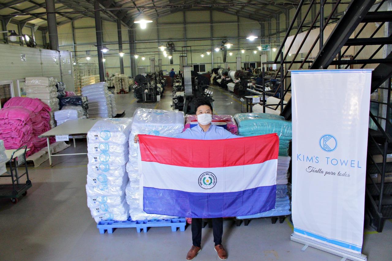 Paraguay exportará 4 mil unidades de toallas de algodón a Uruguay
