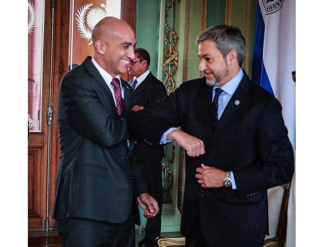 Mario Abdo se ratifica y da total apoyo a Julio Mazzoleni