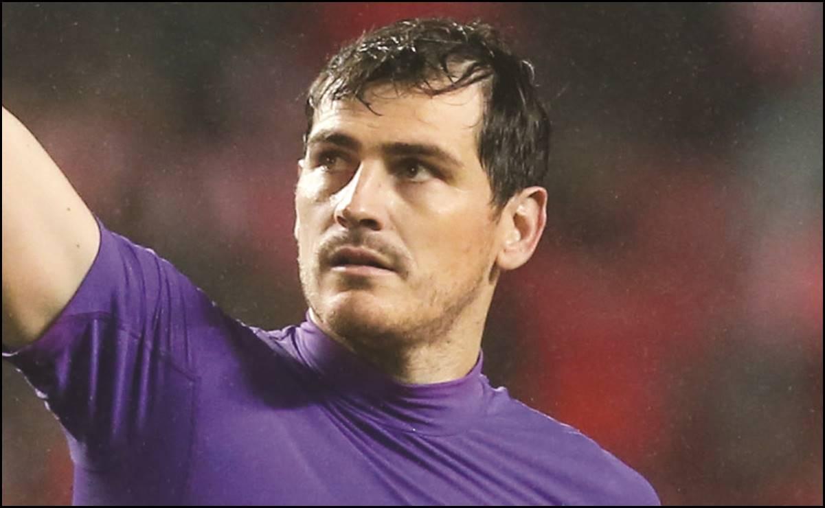 Íker Casillas anunció su retiro del fútbol