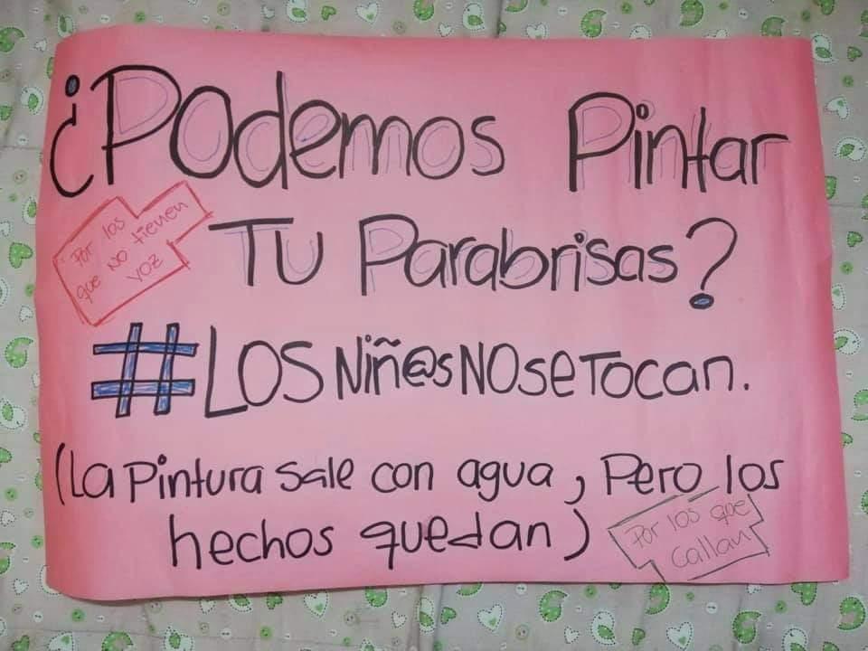 """Pintata contra la violencia infantil """" #LosNiñosNoSeTocan"""" a llevarse este sábado y domingo en Asunción"""