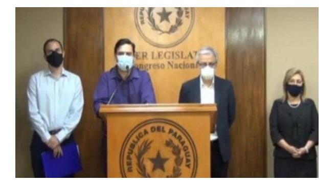 """Senadores opositores conforman bloque contra """"avasallamiento"""" colorado"""