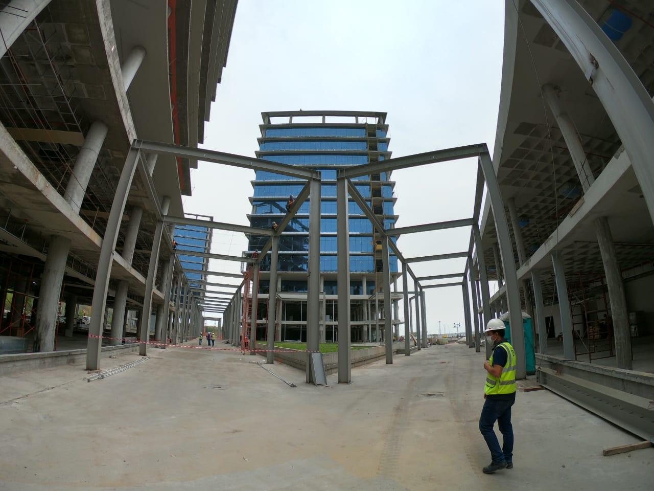 Prevén concluir para junio de 2021 obras civiles de las futuras Oficinas de Gobierno