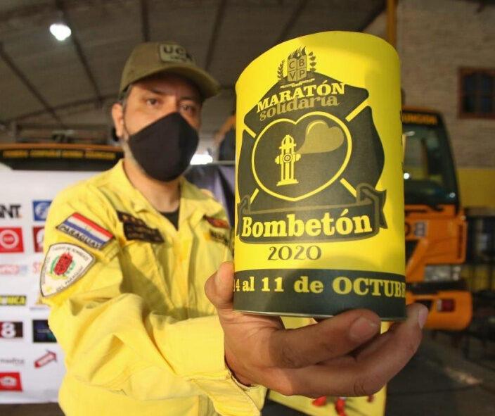 BOMBETÓN 2020: Se viene la maratón solidaria de los Bomberos Voluntarios del Paraguay