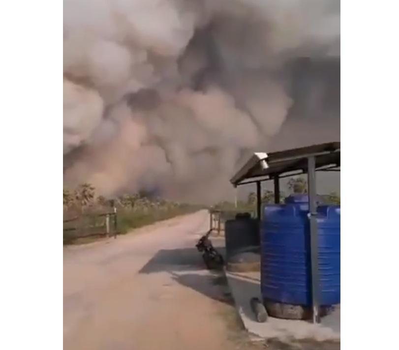El Chaco también sufre incendios