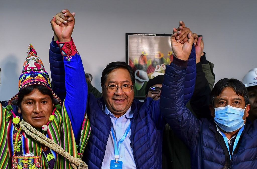 Luis Arce gana elecciones y recupera la presidencia de Bolivia a manos de la izquierda