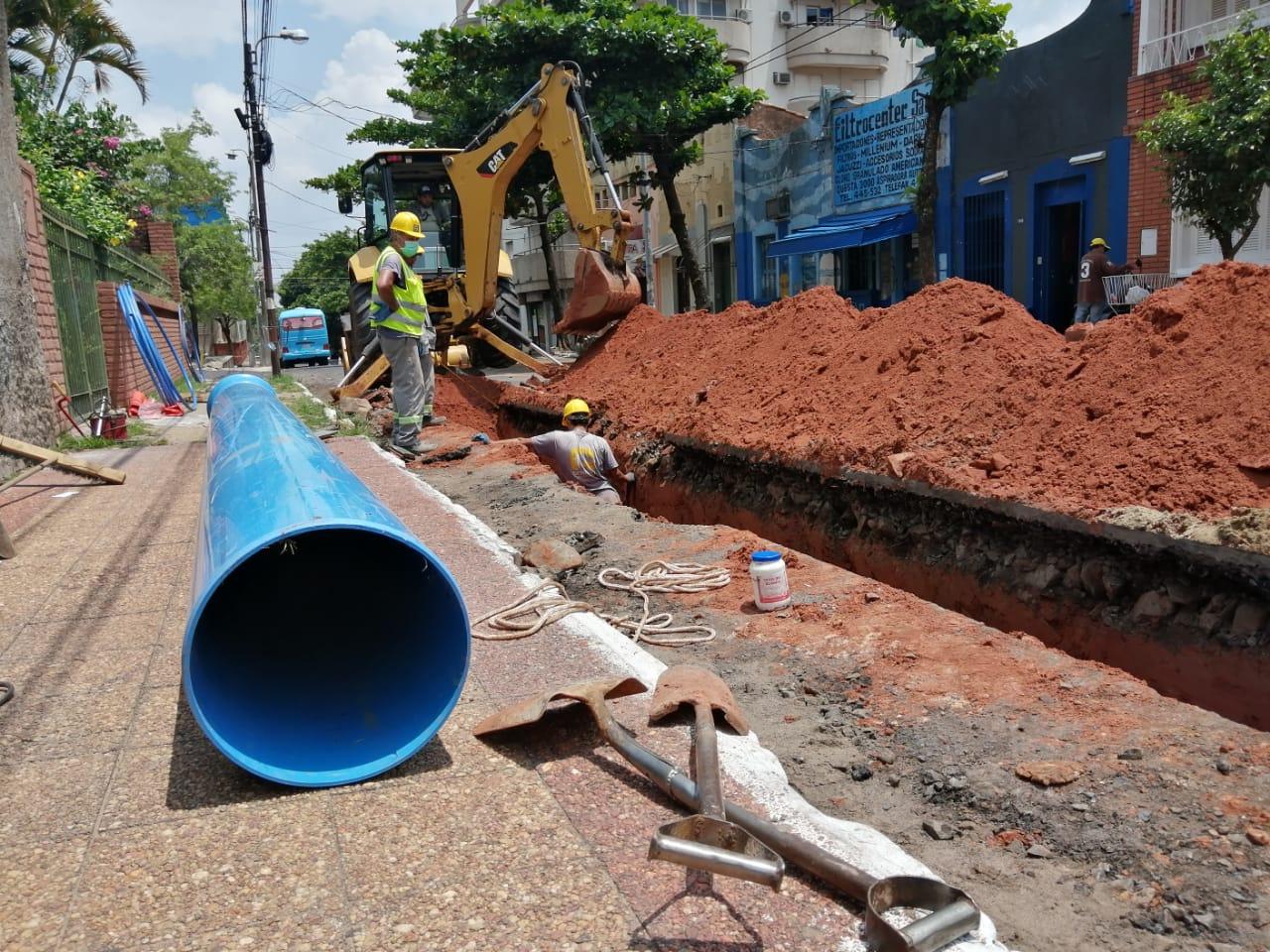 Essap encara obras para garantizar servicio de agua potable en el verano