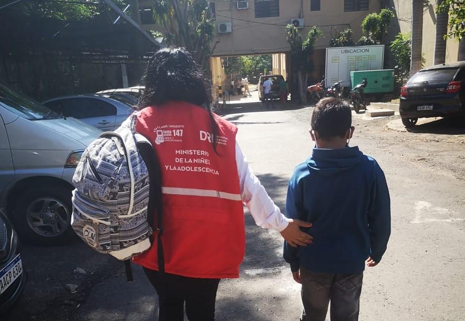 17 Niños y Niñas en situación de calles fueron rescatados en la primera semana de noviembre