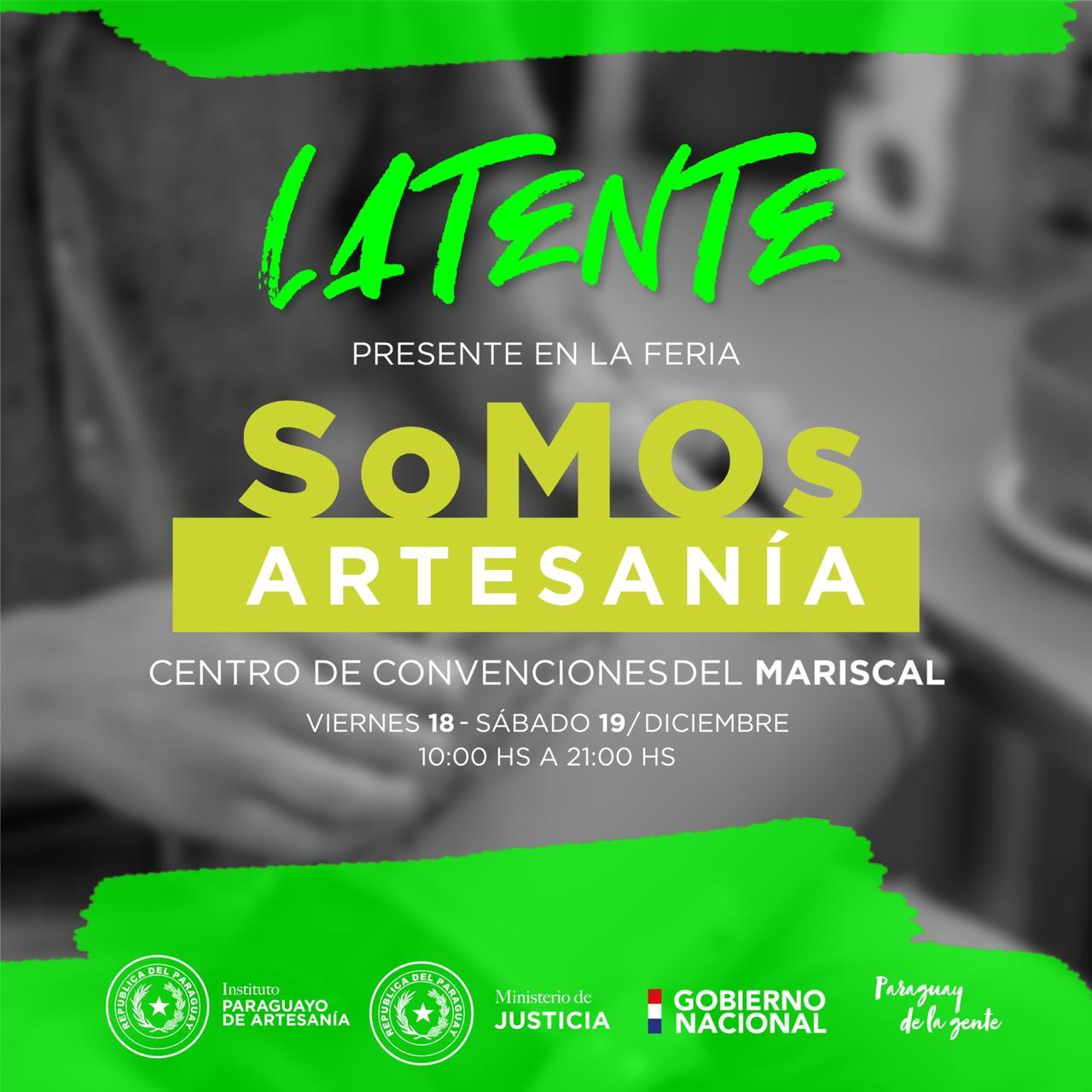 """Productos de Latente presentes en Feria """"Somos Artesanía"""" del IPA"""