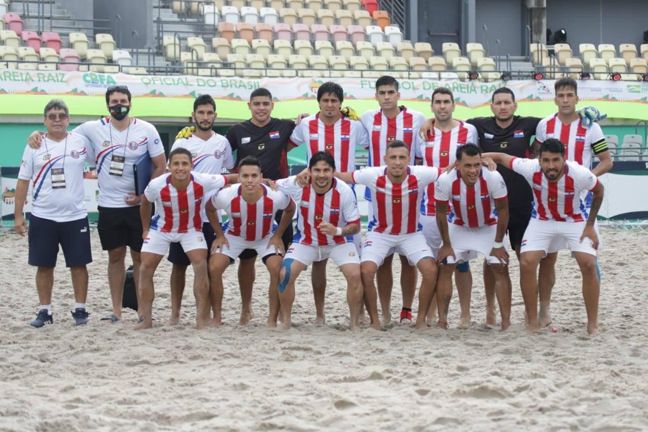 Paraguay eliminado del Campeonato Mundial de Fútbol Arena Raíz de Río de Janeiro