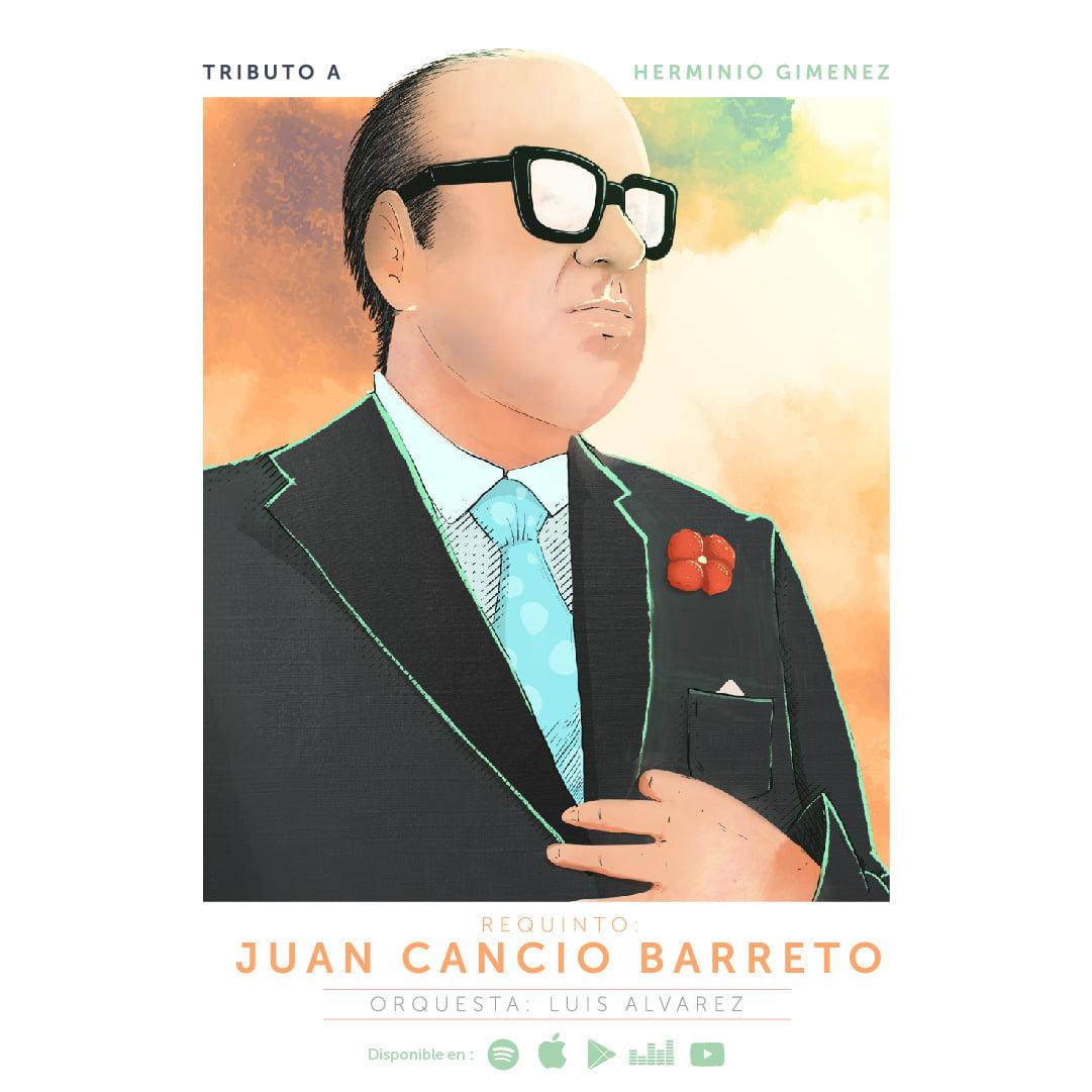 Material Discográfico de Juan Cancio Barreto disponible en plataformas digitales