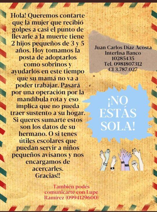 """Impulsan campaña solidaria """"¡No Estás Sola!"""" para ayudar a hijos de joven madre"""