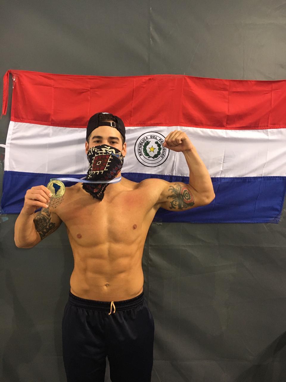 Prono logra Medalla de Oro en natación para Paraguay