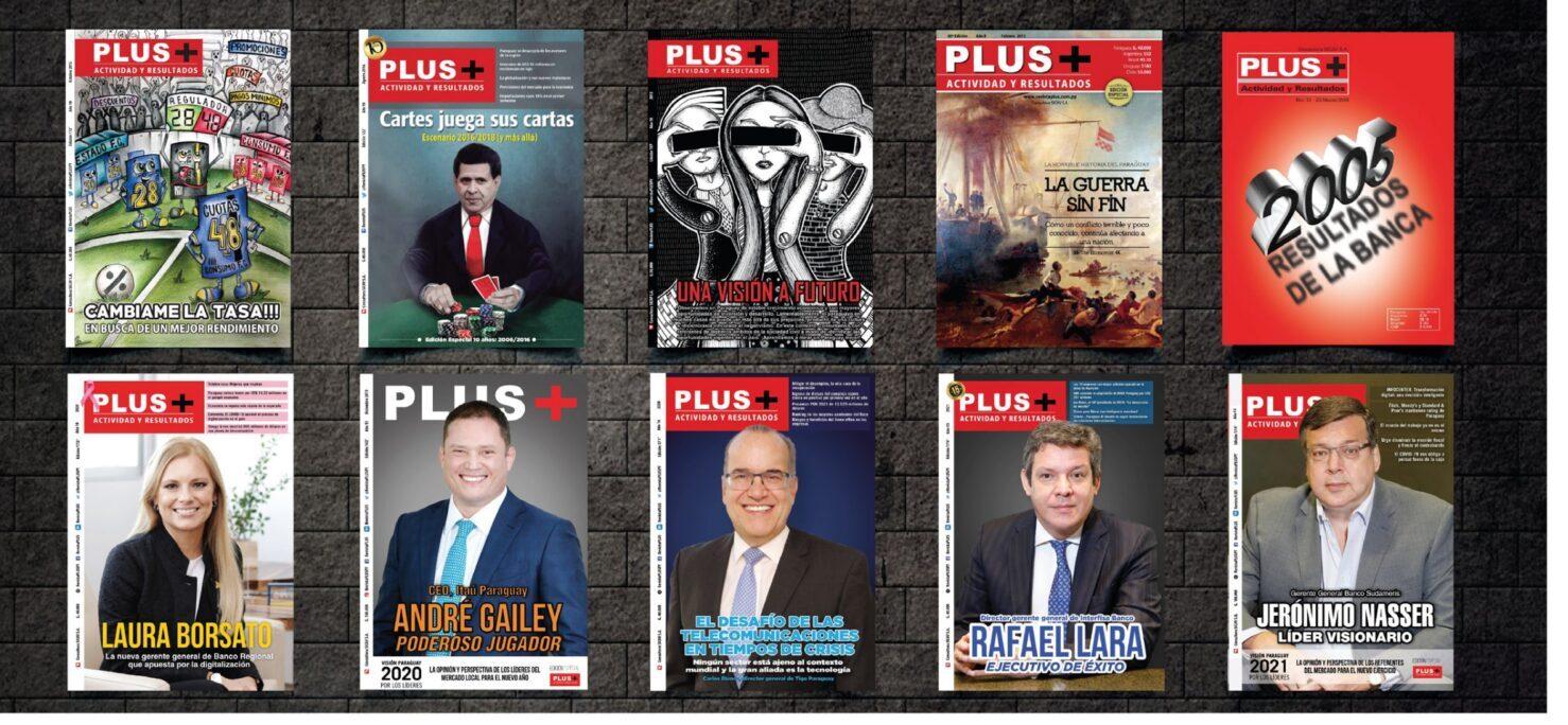 La Revista Plus del mundo empresarial cumple 15 años