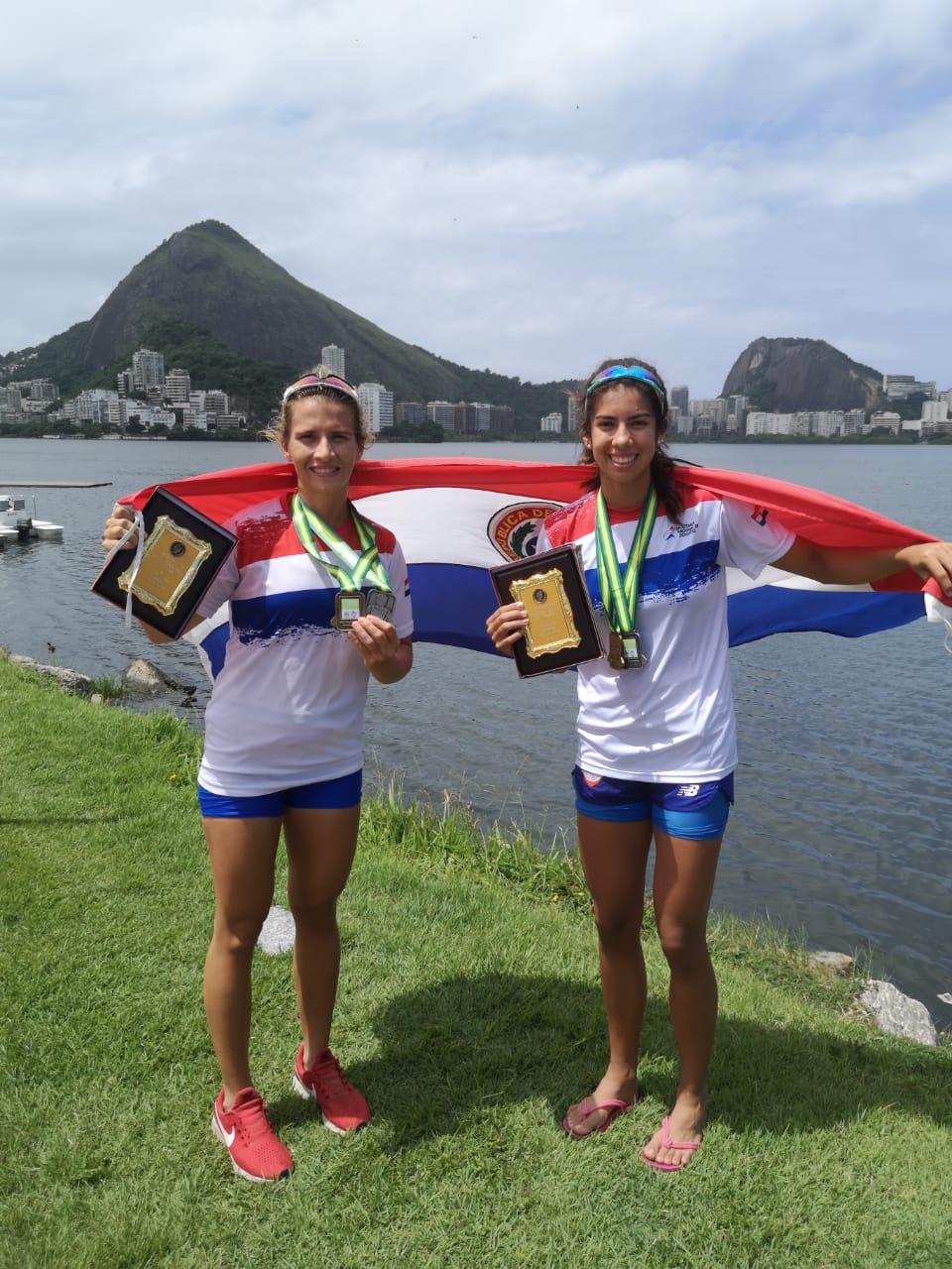 """Remera paraguaya se """"roba"""" la medalla de oro en el Sudamericano"""