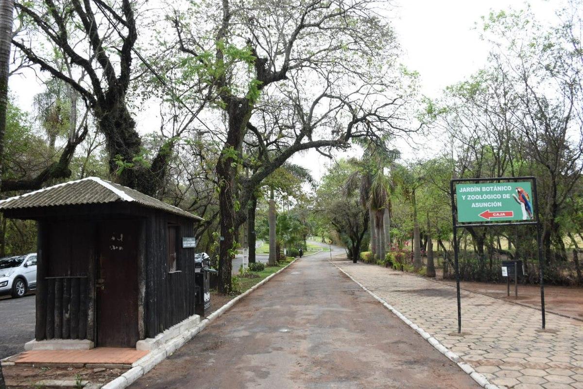 Zona del tacuaral del Jardín Botánico sería un lugar utilizado para atracos y abusos según denuncias existentes