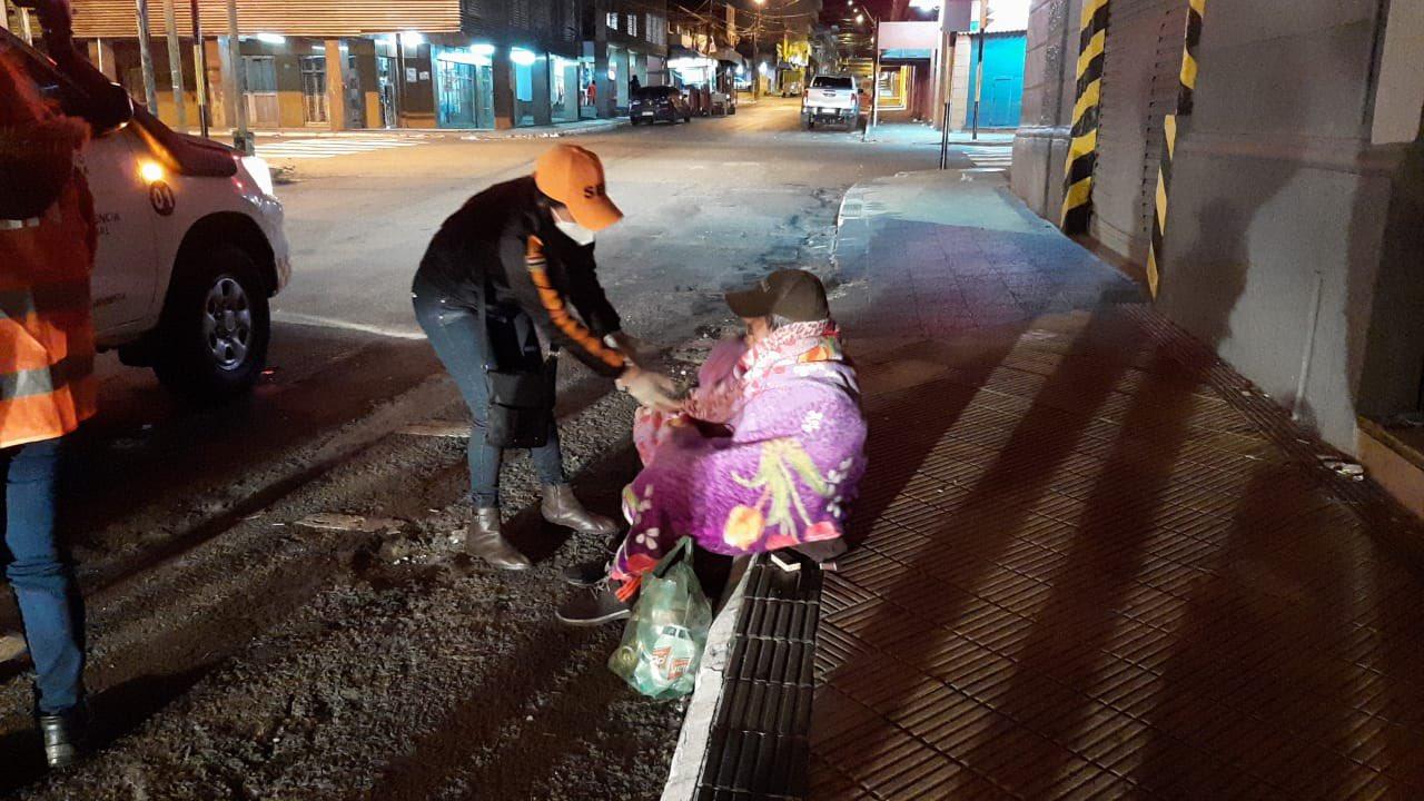SEN sigue asistiendo a personas en situación de calle atendiendo las bajas temperaturas