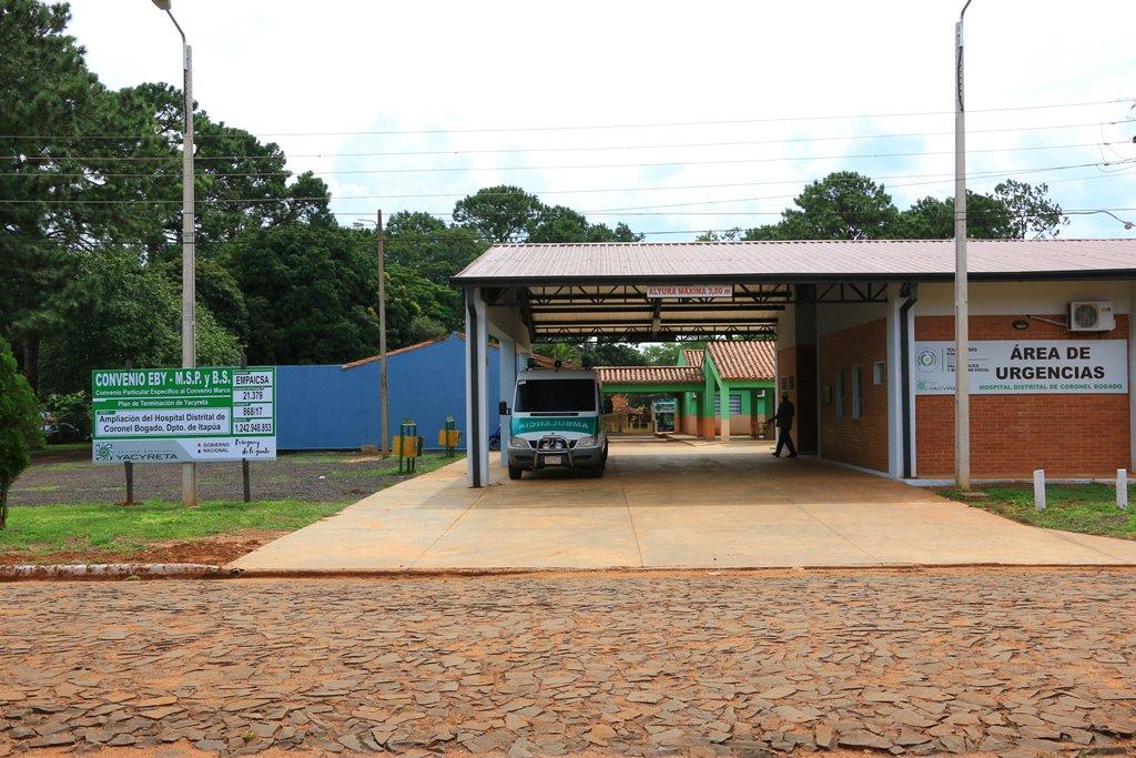 Hospital de Coronel Bogado colapsado y con problemas de provisión de oxígeno