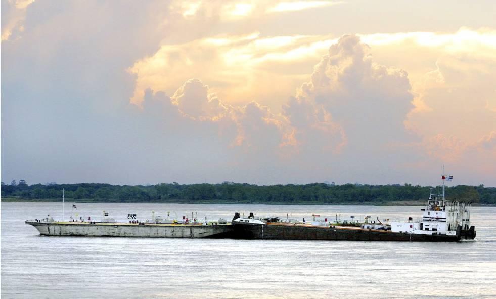 Bajante de río Paraná afecta exportación de granos