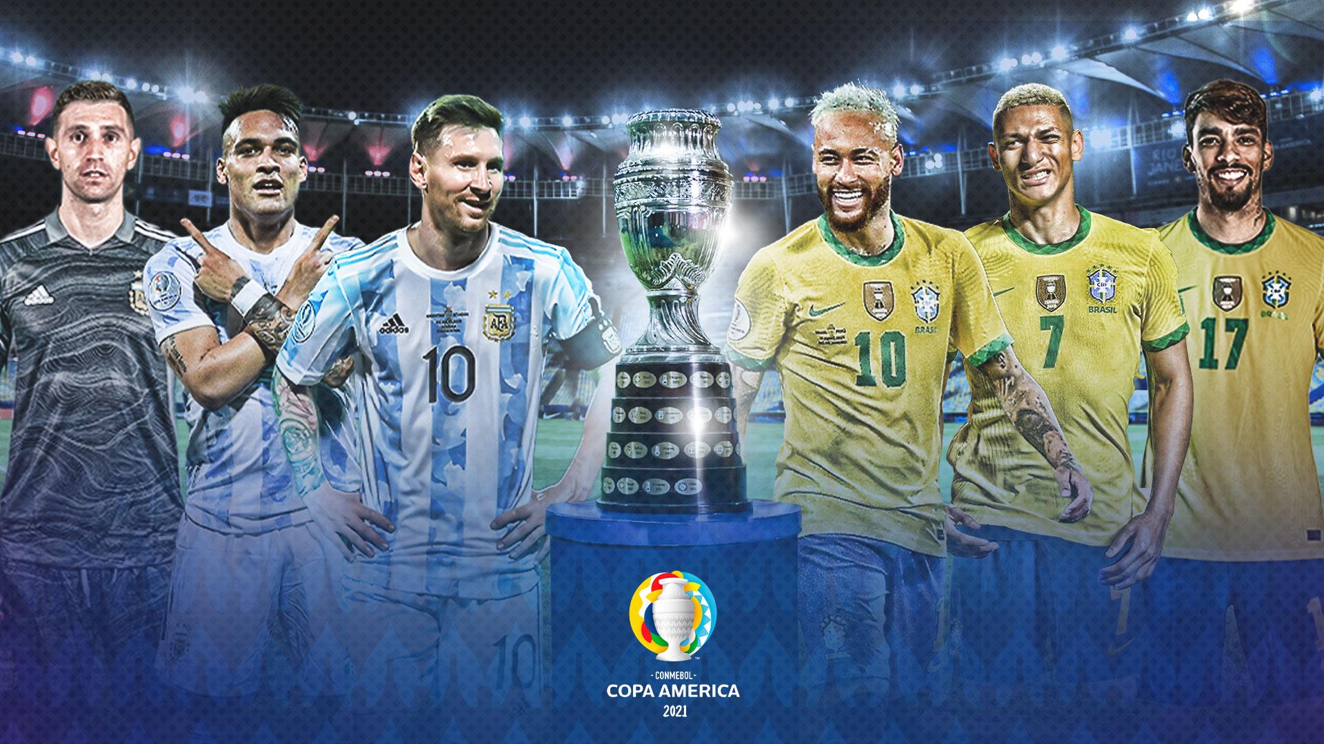 Argentina vs Brasil disputarán el título de la Copa América
