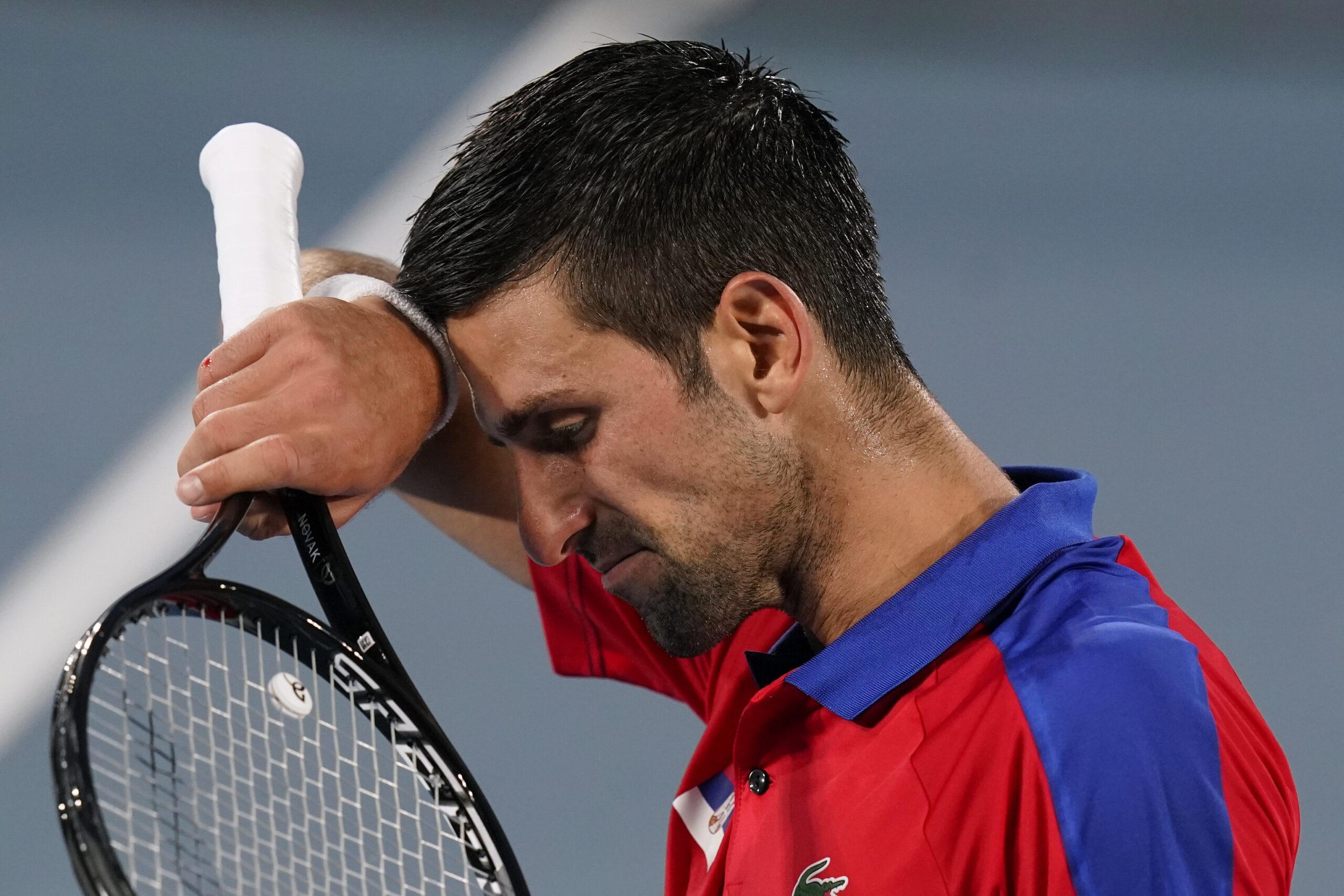 """Novak Djokovic, derrumbado: """"Me siento fatal ahora mismo"""""""
