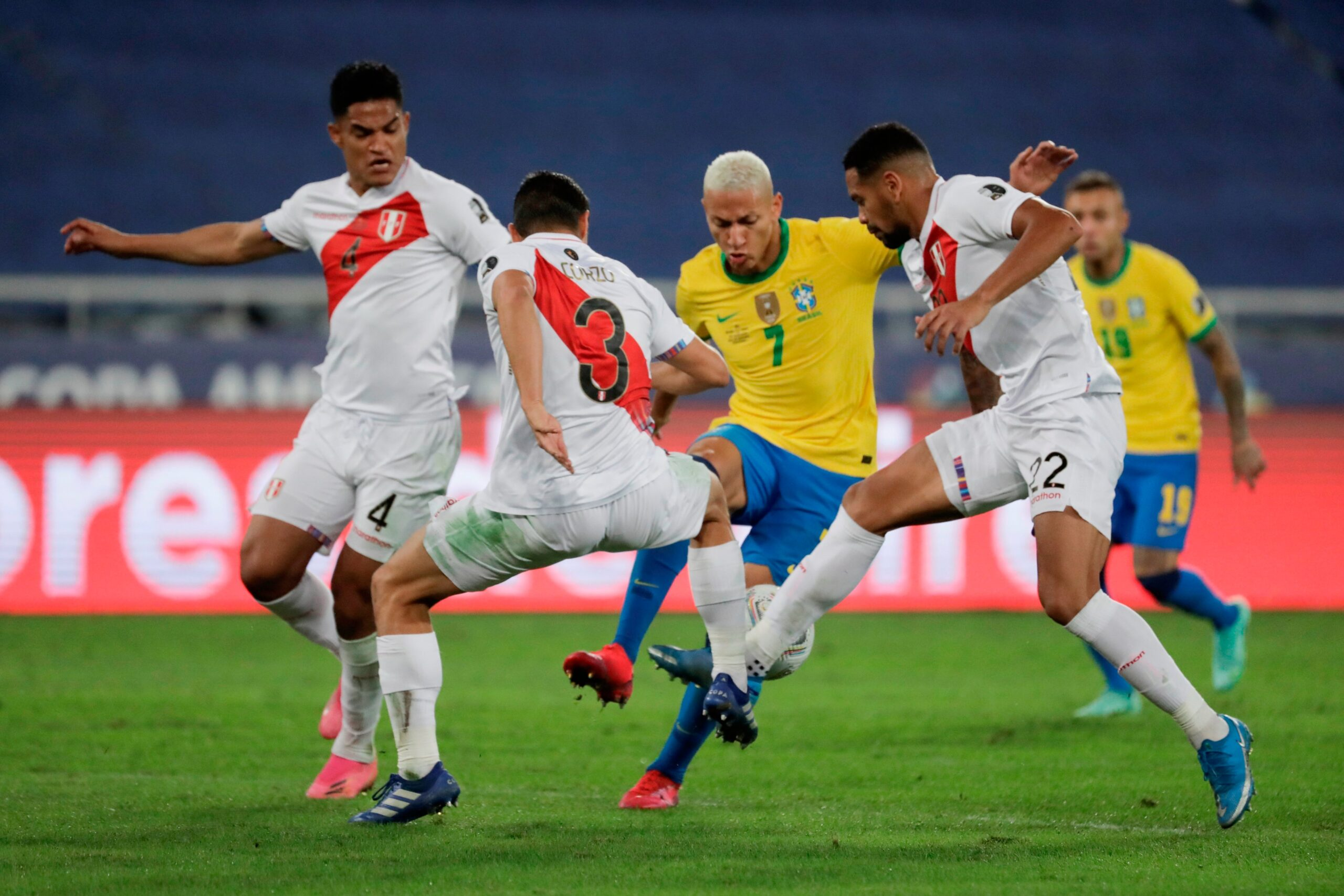 Copa América: Brasil clasifica a la final tras derrotar 1-0 a Perú