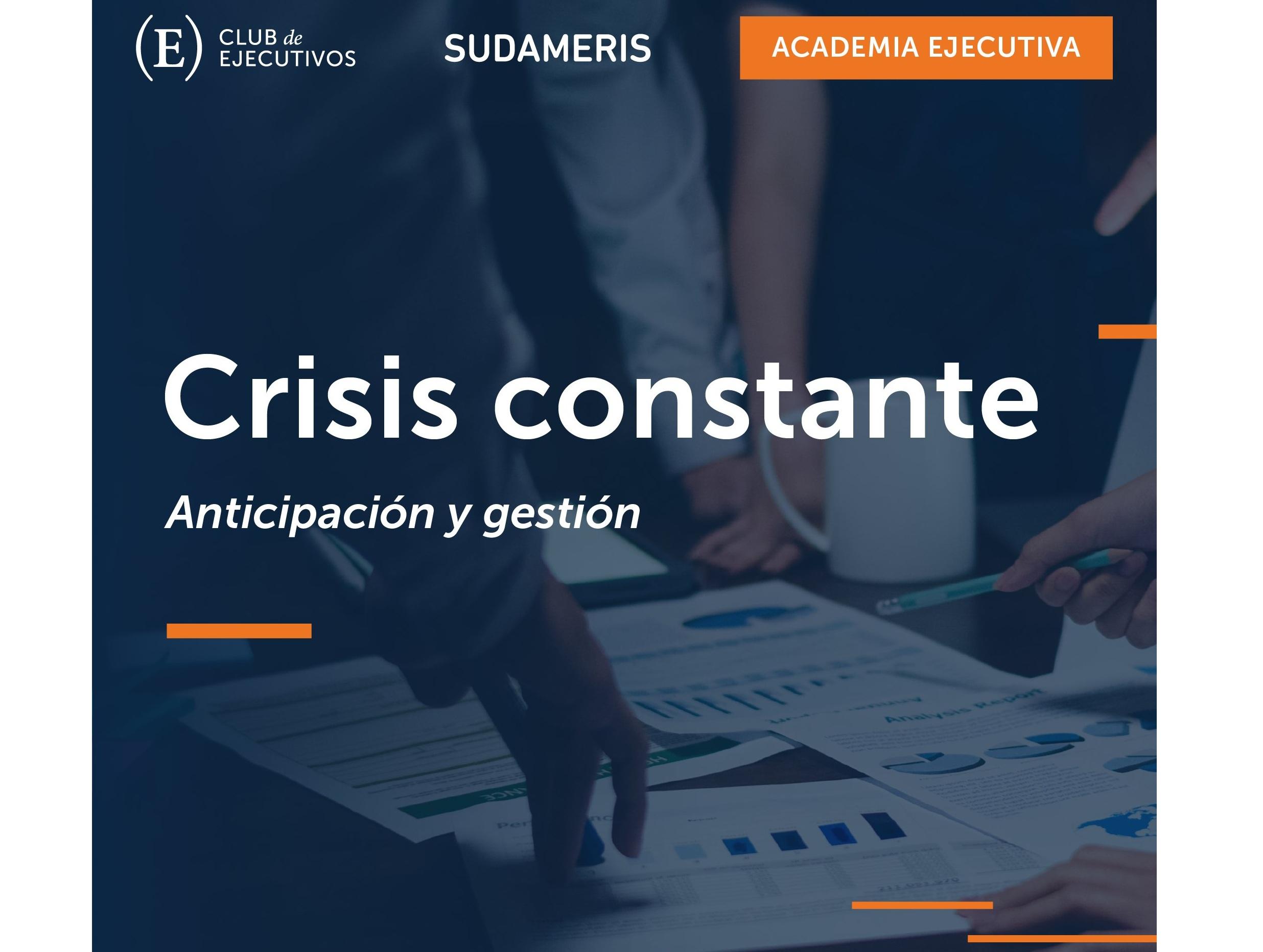 Club de Ejecutivos desarrollará charla sobre anticipación y gestión ante crisis constante