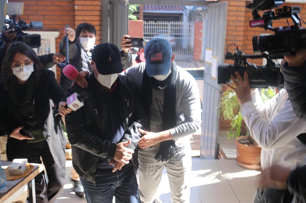Presentan imputación contra padre e hijo, presuntamente implicados en la carga récord de cocaína incautada en Fernando de la Mora