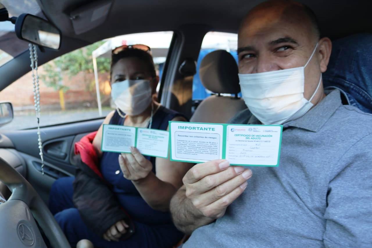 Paraguay supera las 1,8 millones de dosis aplicadas