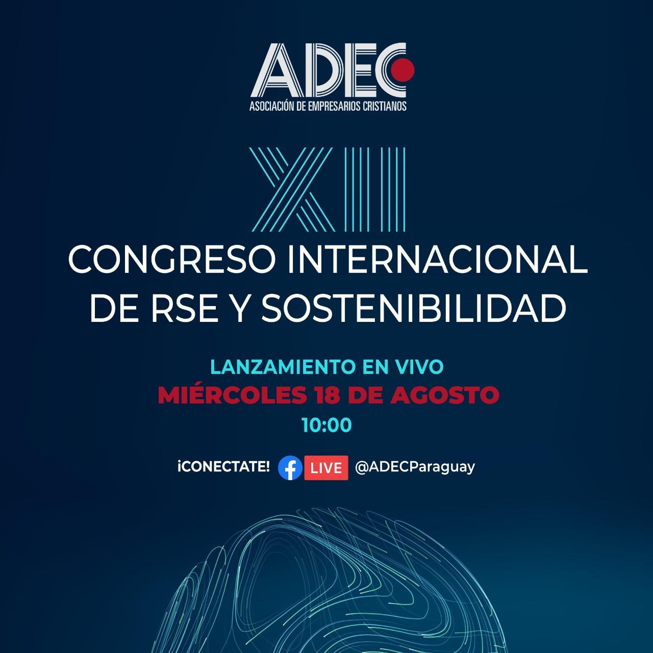 ADEC lanza el XII congreso internacional de Responsabilidad Social Empresarial y Sostenibilidad