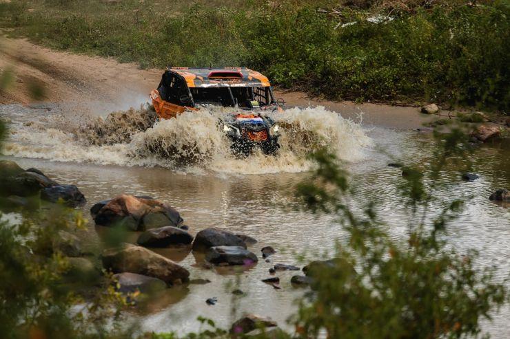 Rally Do Sertões: Santos-Arcondo flamantes campeones en su categoría, quedando undécimos en la general