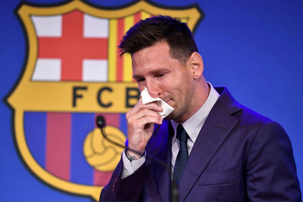 """""""No estaba preparado para marcharme"""": Con lágrimas, Messi se despide del Barcelona"""