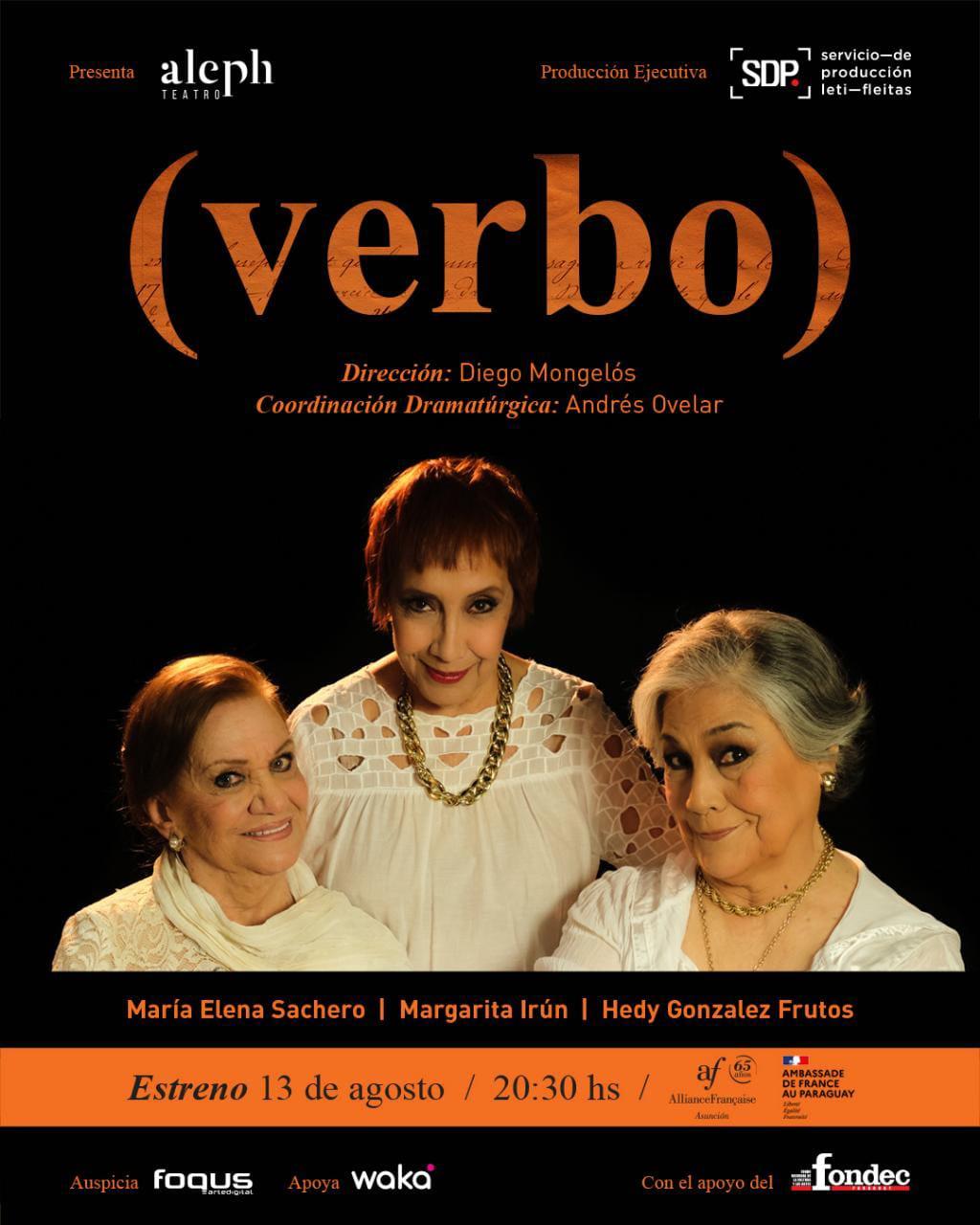 """Este viernes  """"Verbo"""" llega al teatro"""