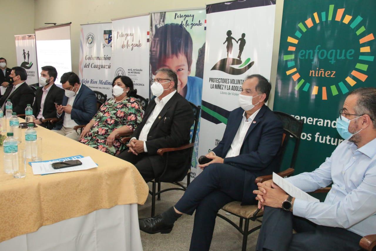 Lanzan en Caaguazú primer programa departamental de familias acogedoras