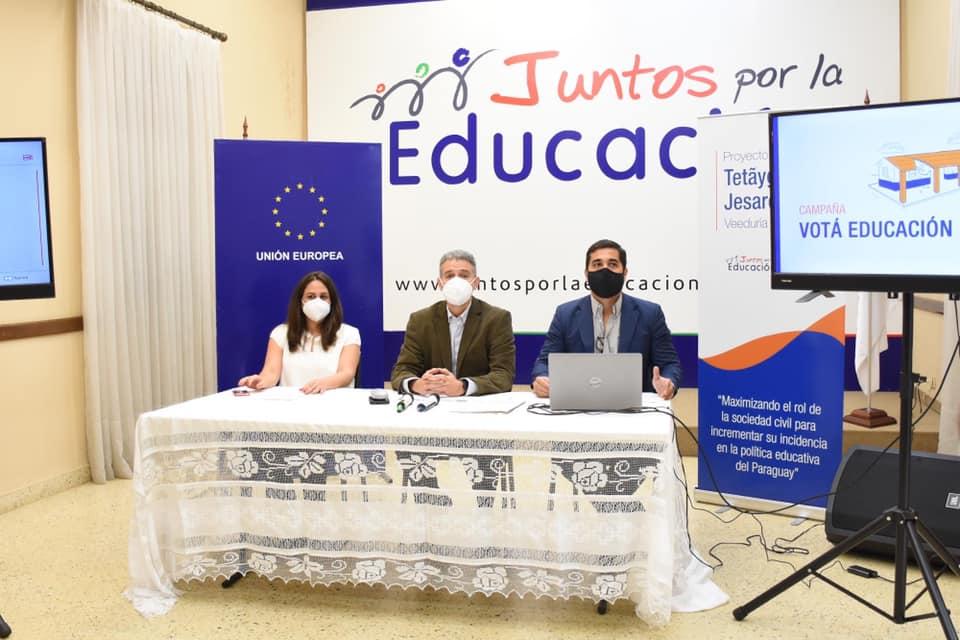 """Lanzan campaña """"Votá Educación"""" con miras a las elecciones"""