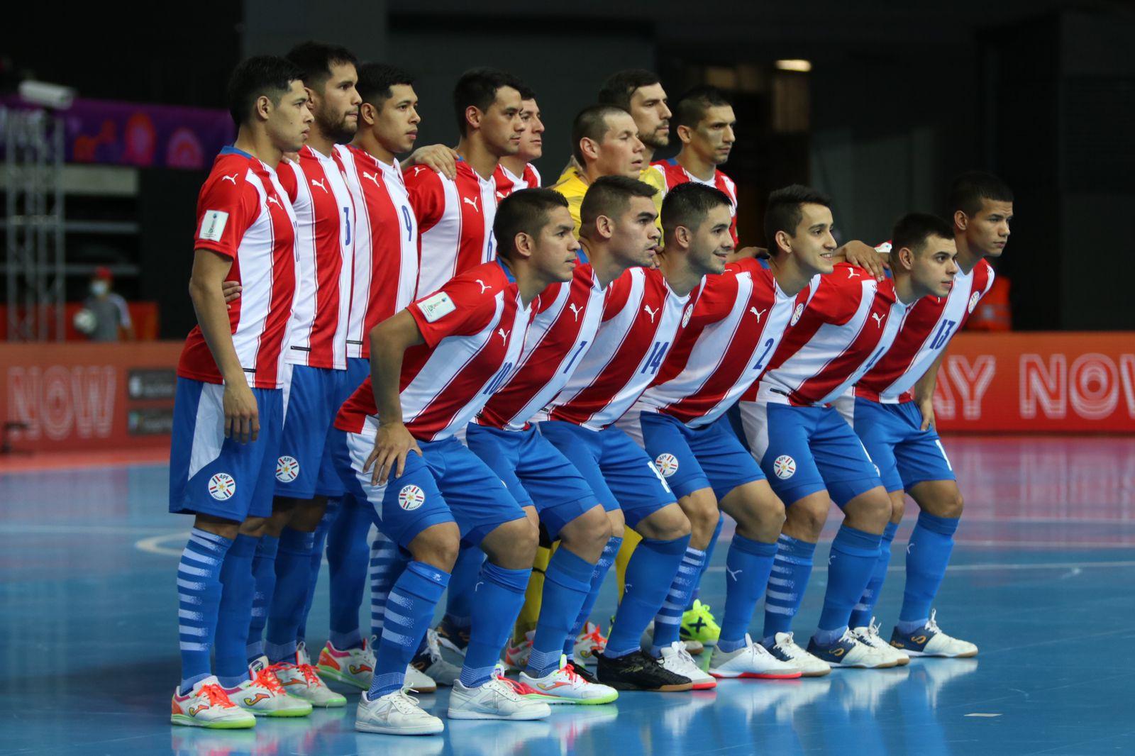 La Selección Paraguaya de Futsal enfrenta hoy a Japón en el Mundial de Futsal FIFA