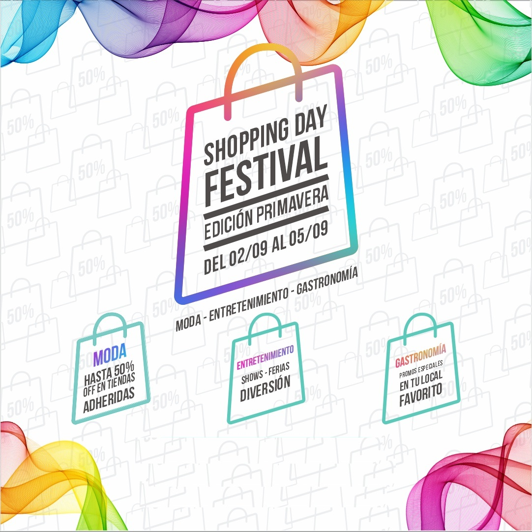 ¡Arranca el Shopping Day Festival!