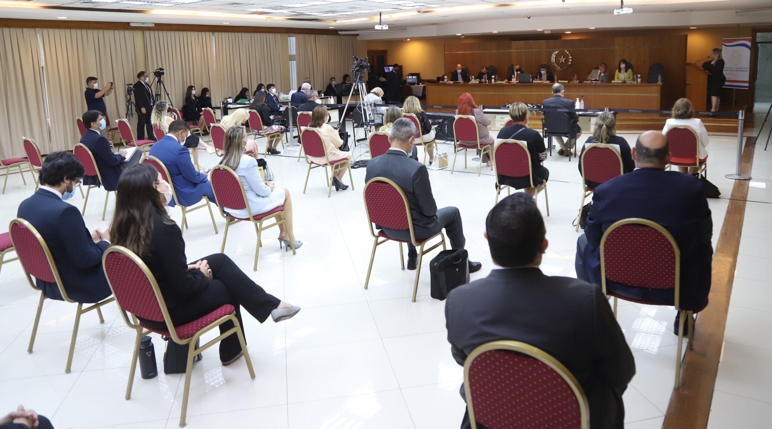 Con siete postulantes se completó primera semana de audiencias públicas para terna de ministro de la CSJ