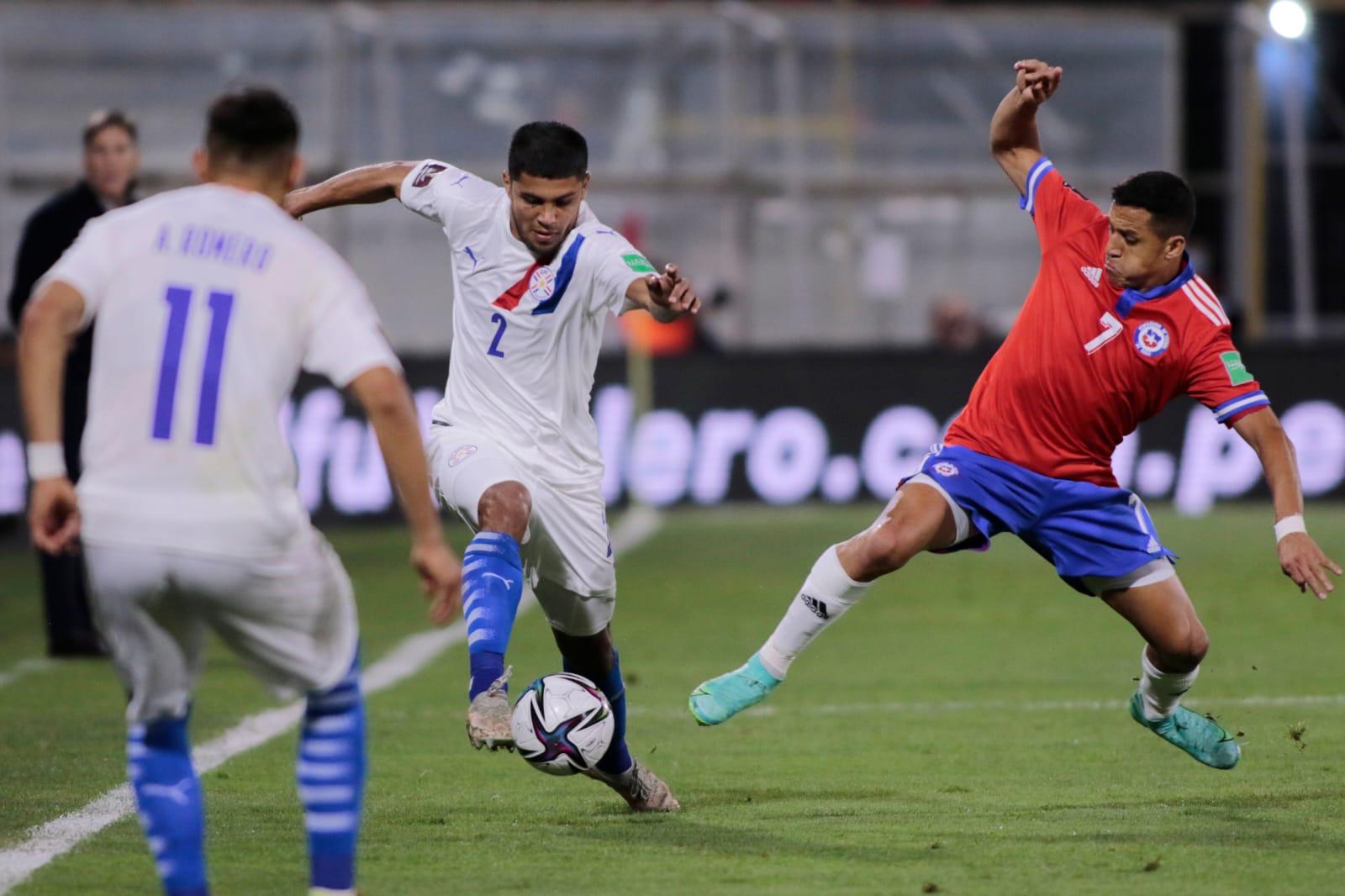 La Selección Paraguaya no pudo ante Chile por las Eliminatorias