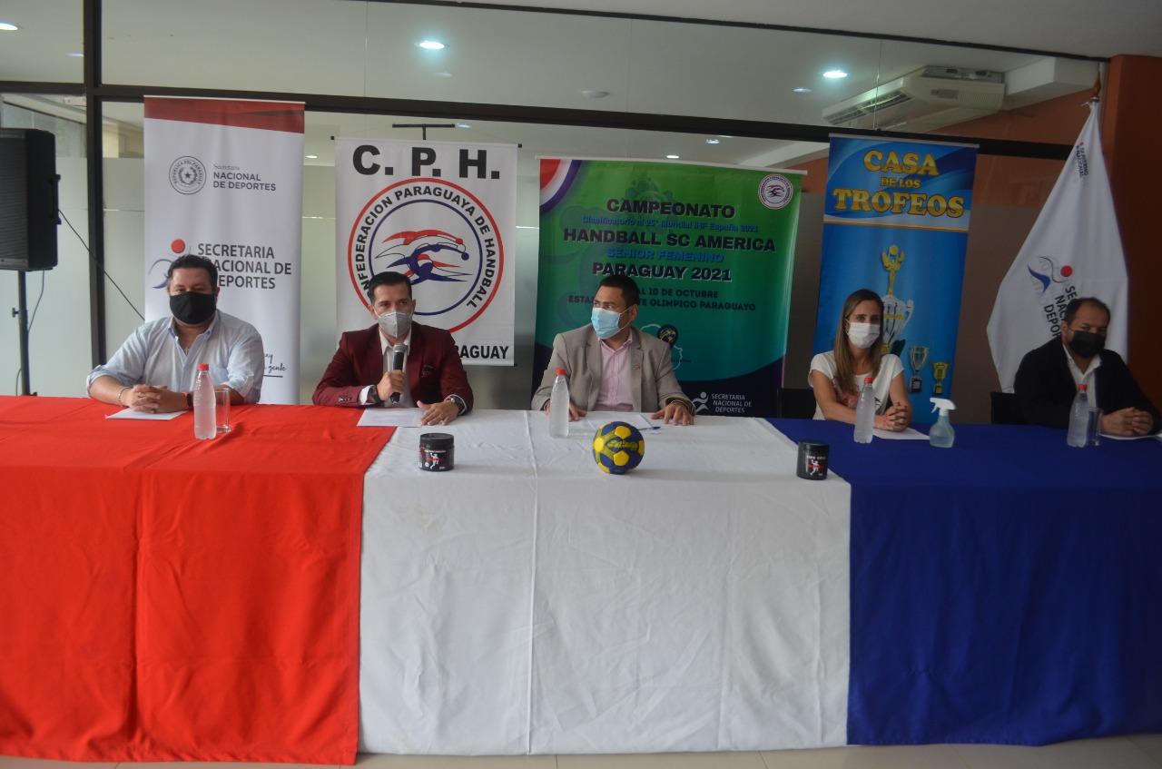 Campeonato Centro Sur de Handball 2021 se llevará a cabo del 5 al 9 de octubre.