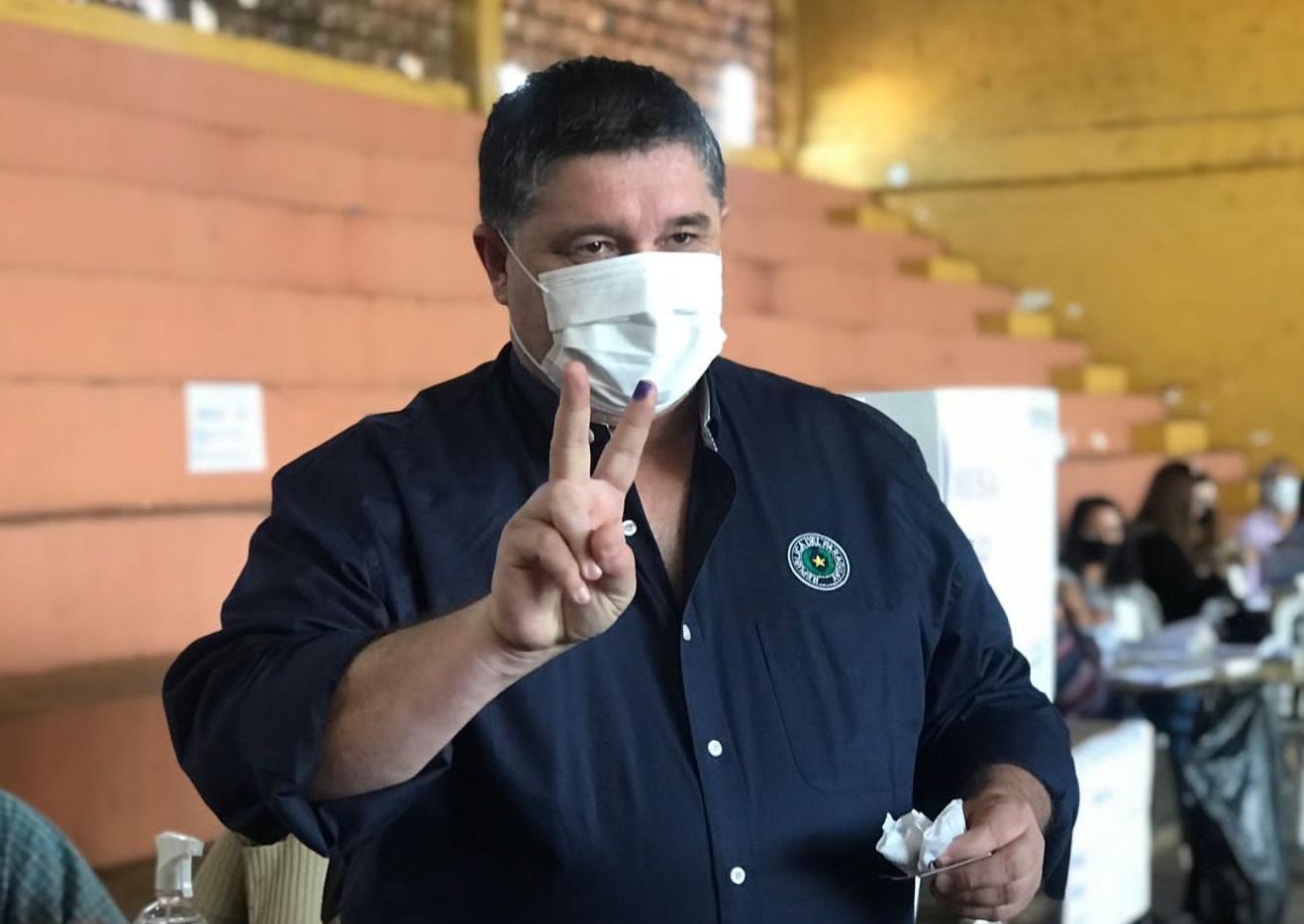 "Alcides Riveros pide a fernandinos ""continuar proceso"""