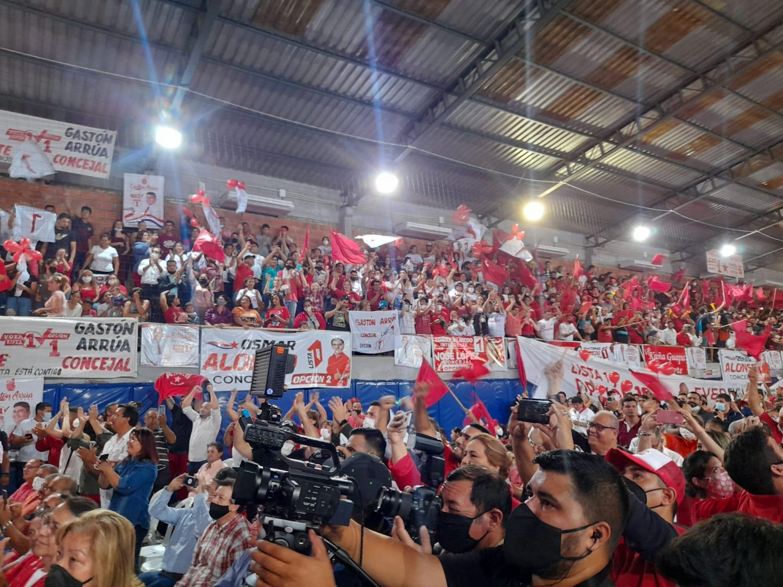 ANR celebró victorias en más de 160 distritos