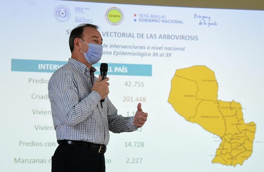 Dengue: Preocupa elevados índices de infestación en 9 departamentos