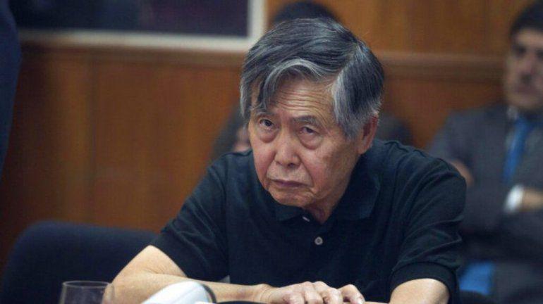 Fujimori es hospitalizado en Perú por un problema de saturación de oxígeno