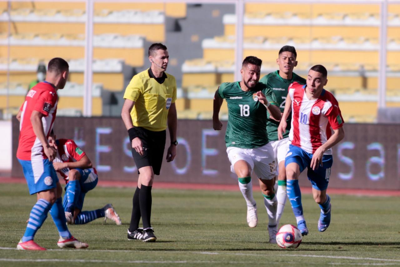 Dolorosa derrota de la selección paraguaya de fútbol en Bolivia