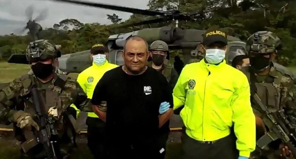 """Detienen a """"Otoniel"""", el narcotraficante más buscado de Colombia desde la época de Pablo Escobar"""